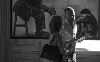 LA SOIREE VERNISSAGE DE FINE ART INVEST – RUT.HM'N' & COLORS -VILLA GABY –
